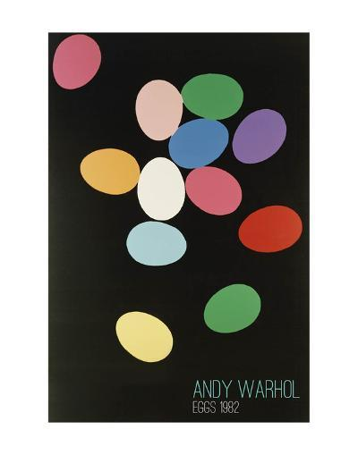 Eggs, 1982 (Multi)-Andy Warhol-Art Print