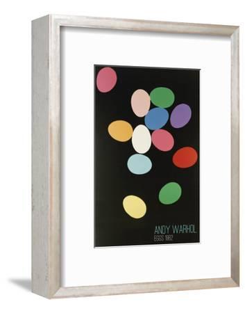 Eggs, 1982 (Multi)-Andy Warhol-Framed Art Print