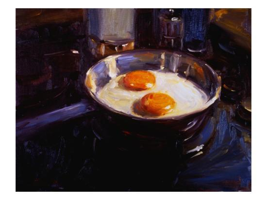 Eggs on the Gas Stove-Pam Ingalls-Giclee Print