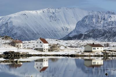 Eggum, Lofoten Islands, Arctic, Norway, Scandinavia-Sergio Pitamitz-Photographic Print