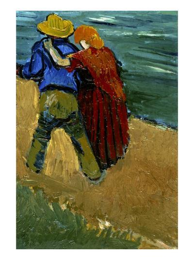 Eglogue En Provence - Un Couple D'Amoureux, 1888-Vincent van Gogh-Giclee Print