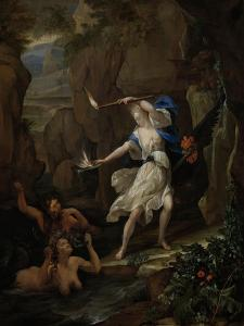Circe Punishes Glaucus by Turning Scylla into a Monster by Eglon van der Neer