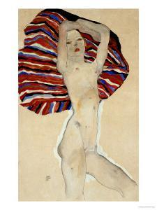 Act Against Coloured Material, 1911 by Egon Schiele