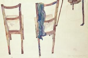 Art Cannot Be Modern: Art Is Eternal, 1912 by Egon Schiele