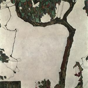 Autumn Tree, 1909 by Egon Schiele