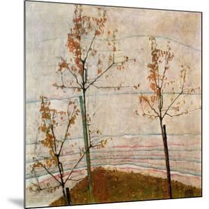 Autumn Trees, 1911 by Egon Schiele