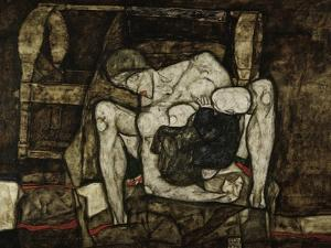 Blind Mother or the Mother, 1914 by Egon Schiele