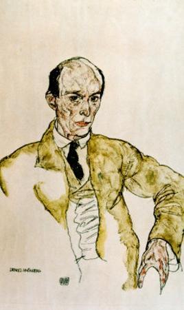 Composer Arnold Schoenberg, 1917 by Egon Schiele