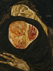 Dead Mother, Tote Mutter (I) by Egon Schiele