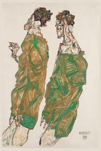 Devotion, 1913 by Egon Schiele