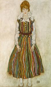 Edith Schiele, 1915 by Egon Schiele