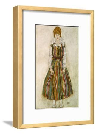 Edith Schiele, 1915