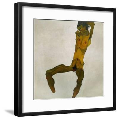 Egon Schiele, Self-Portrait, Nude