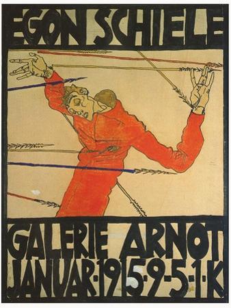 Egon Shiele For Galerie Arnot by Egon Schiele