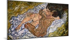 Embrace by Egon Schiele