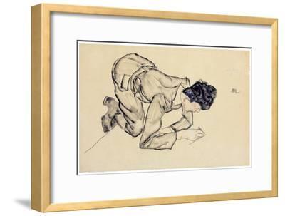 Erich Lederer Drawing on the Floor, 1912