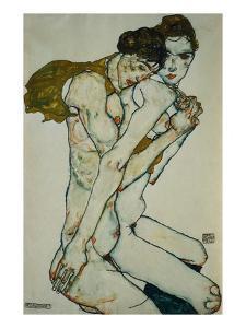 Friendship by Egon Schiele