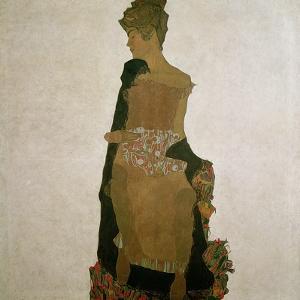 Gerti Schiele, 1909 by Egon Schiele