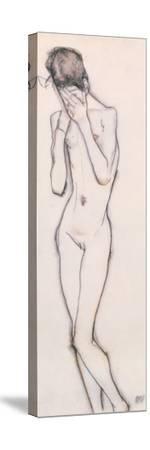 Girl Standing by Egon Schiele