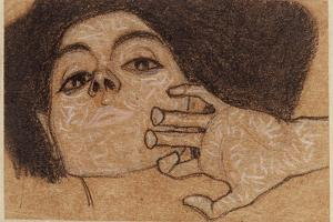 Head of a Woman, C.1907-8 by Egon Schiele