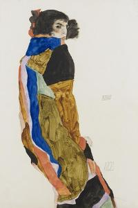 Moa, 1911 by Egon Schiele