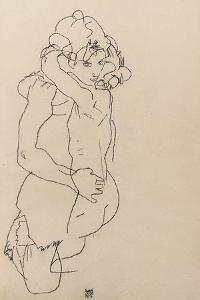 Mother and Child, 1917 by Egon Schiele