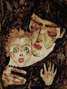 Mother and Child II, 1912 by Egon Schiele