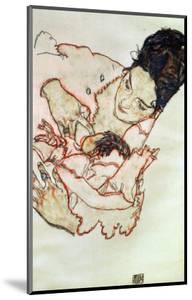 Nursing Mother (Stephanie Gruenwald) 1917 by Egon Schiele