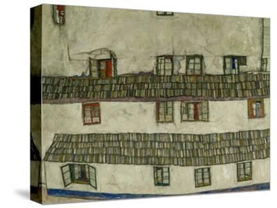 Old Houses (Krumlov, Bohemia), 1917