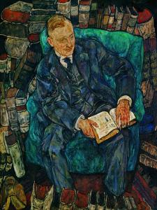 Portrait Dr. Hugo Koller, 1919 by Egon Schiele