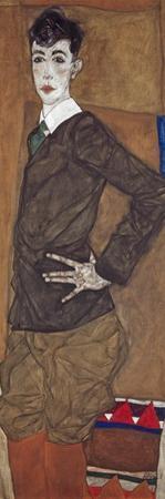Portrait of Erich Lederer, 1912-13 by Egon Schiele