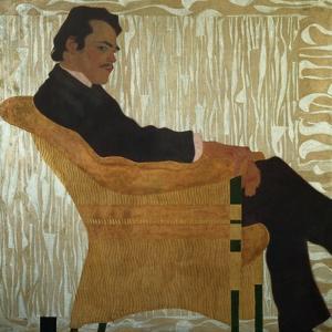 Portrait of Hans Massmann, 1909 by Egon Schiele
