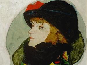 Portrait of Ida Roessler, 1912 by Egon Schiele