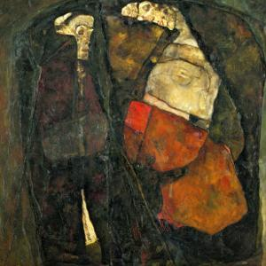 Pregnant Woman and Death by Egon Schiele