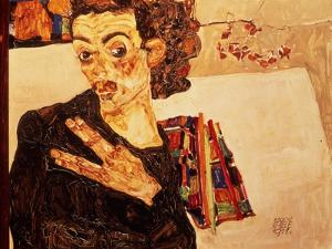 Self Portrait, 1911 by Egon Schiele