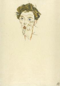 Self-Portrait, 1913 by Egon Schiele
