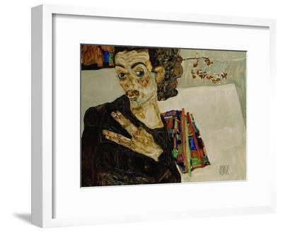 Self-Portrait with Spread Fingers, 1911
