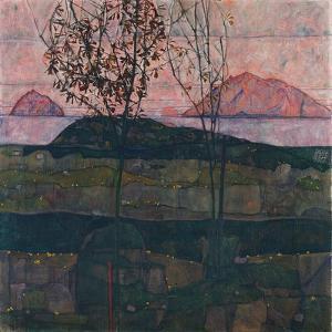 Setting Sun, 1913 by Egon Schiele