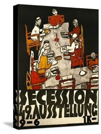 Sezessionsplakat 1918, Poster for the 49th Secession Exhibition by the Neukunstgruppe, Austria