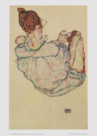Sitting Women, 1917 by Egon Schiele