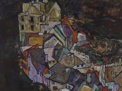 Stadtende III, 1917/1918. (Krumau)