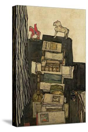 Still Life with Books, 1914