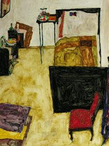 The Artist's Room in Neulengbach, 1911 by Egon Schiele