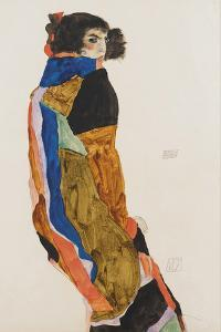 The Dancer Moa, 1911 by Egon Schiele