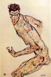 The Fighter, 1913 by Egon Schiele
