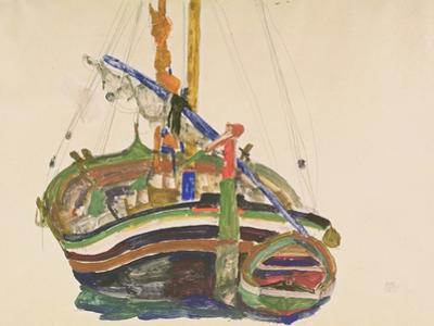Trieste Fishing Boat, 1912