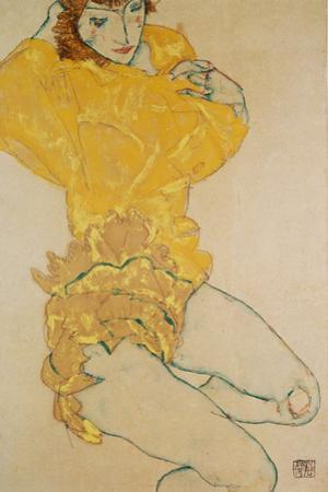 Woman Undressing, 1914