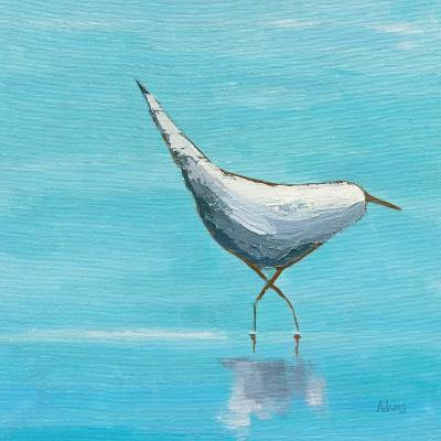 Egret I Bright-Phyllis Adams-Art Print