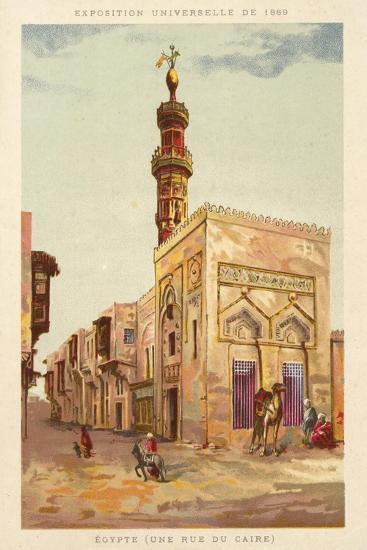 Egypt (A Cairo Street), Exposition Universelle 1889, Paris--Giclee Print