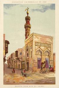 Egypt (A Cairo Street), Exposition Universelle 1889, Paris